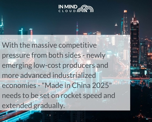 China's Digital Upgrade for Manufacturing - China 2025 | In Mind Cloud