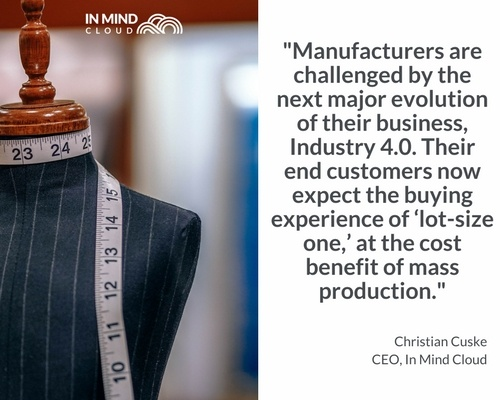 Manufacturing Challenges Industry 4.0 Customer Expectations | In Mind Cloud