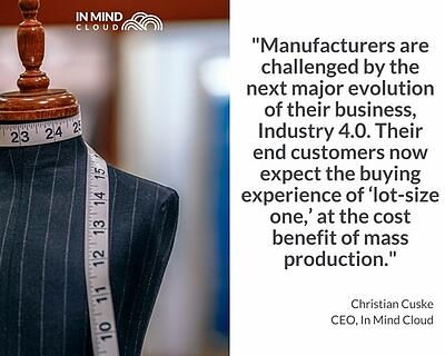 Manufacturing Challenges Industry 4.0 Customer Expectations   In Mind Cloud