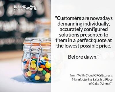 Rising customer expectations in RFQ quote for manufacturing   In Mind Cloud