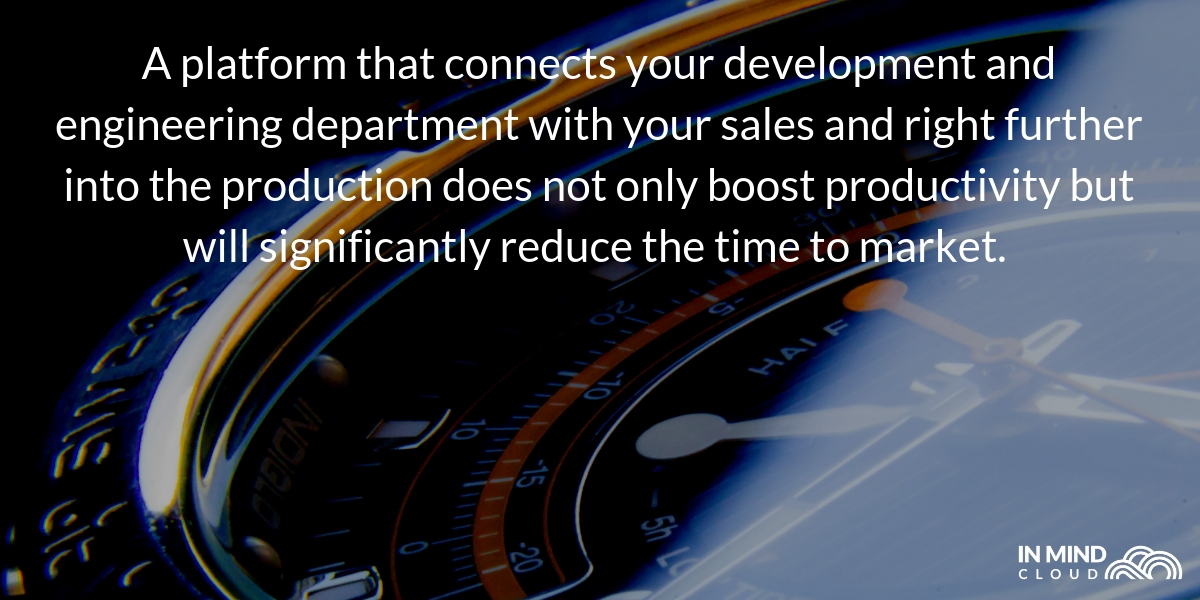 one sales platform to reduce time to market for innovations