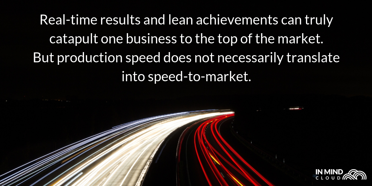 production speed vs speed to market