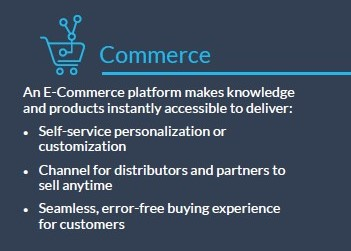 infobox: Elements of a digital sales platform for manufacturing - Commerce e-commerce explained