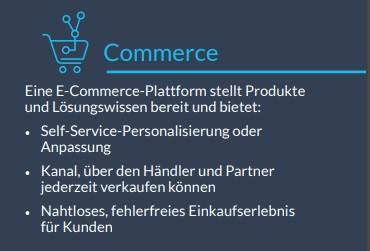 Infobox: Commerce für die Industrie und Fertigung