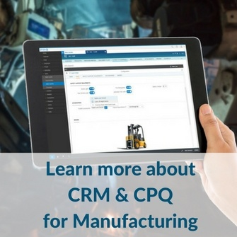 Learn more about CRM & CPQ for Manufacturing | In Mind Cloud