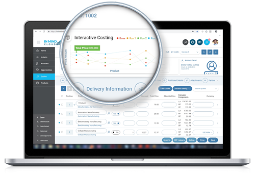 Manufacturing Sales Platform Live Demo about Costing