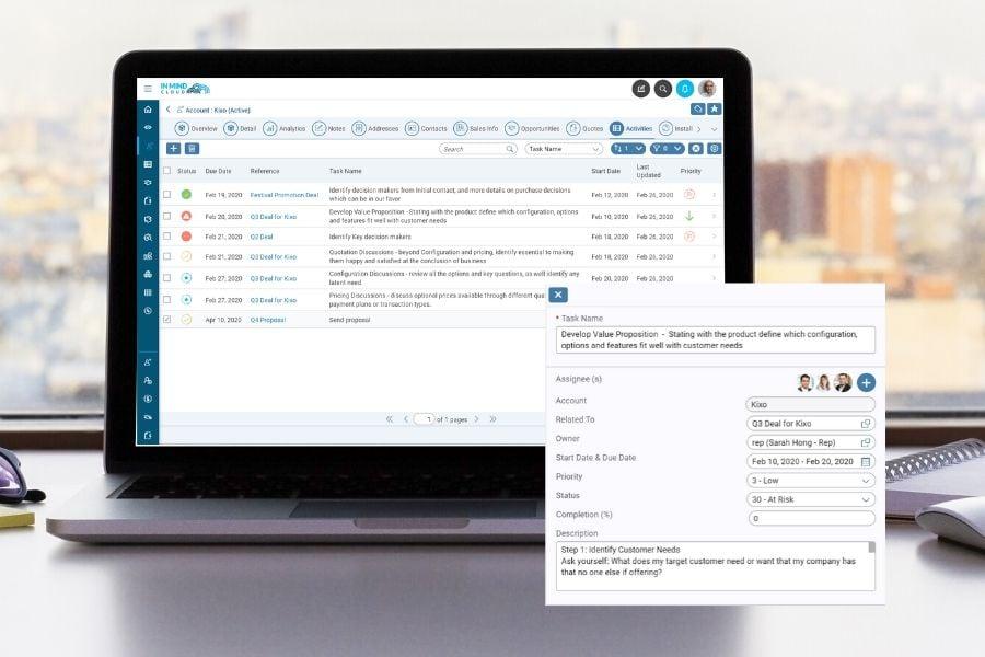 mx 2002 release activity management