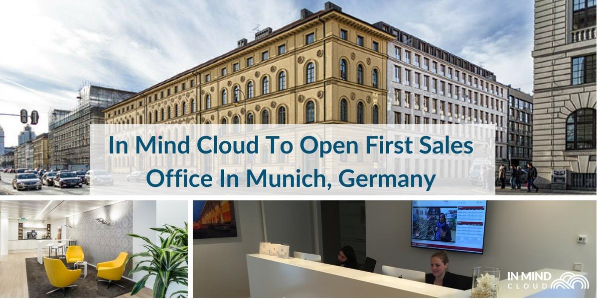 In Mind Cloud eröffnet Vertriebsbüro in München, Deutschland