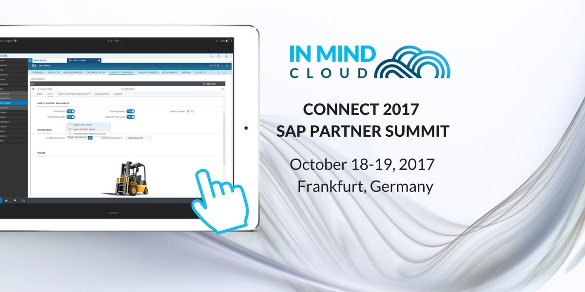 Sehen Sie unser CPQ in Aktion | SAP Connect 2017