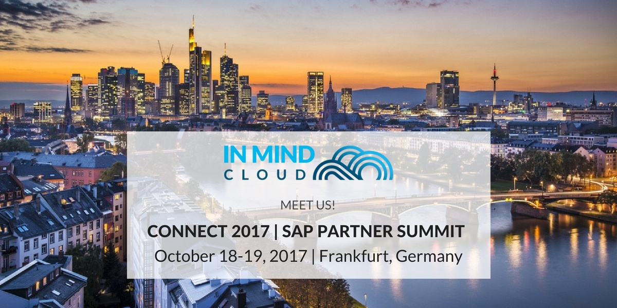 In Mind Cloud auf der CONNECT 2017 | SAP Partner Summit