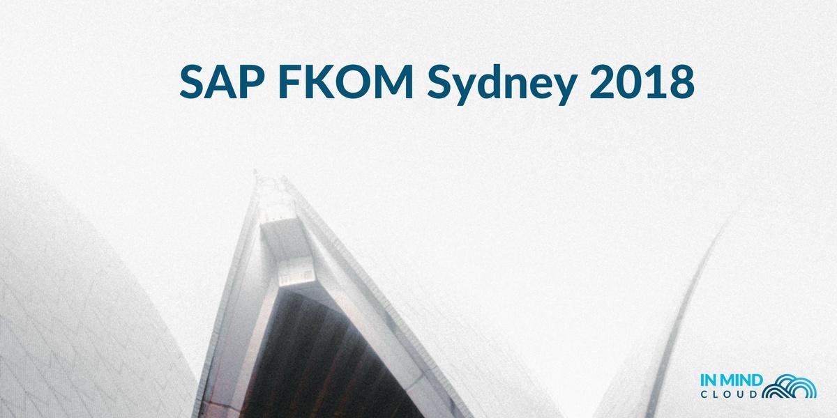 In Mind Cloud at SAP FKOM Sydney 2018 (1)