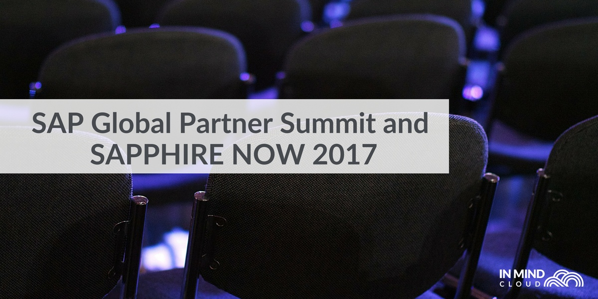 In Mind Cloud bei der SAPPHIRE NOW und dem SAP Global Partner Summit 2017
