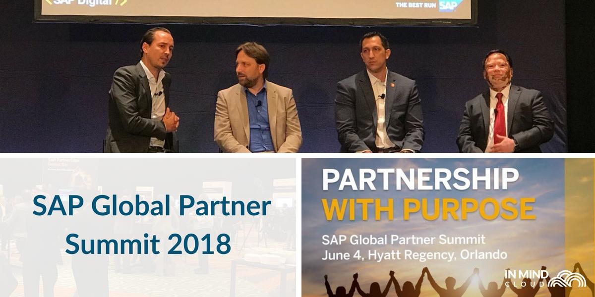 In Mind Cloud Speaks At The SAP Global Partner Summit 2018