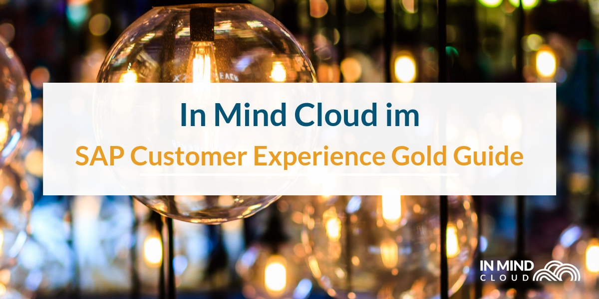 In Mind Cloud im SAP Customer Experience Gold Guide