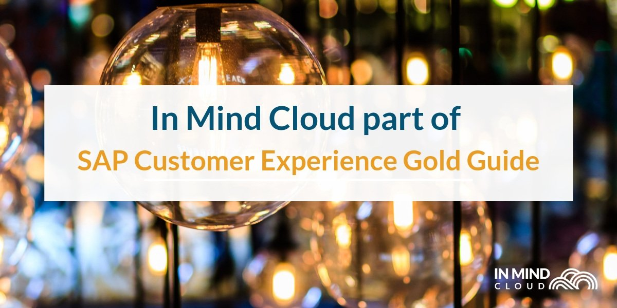 In Mind Cloud part of SAP Customer Experience Gold Guide