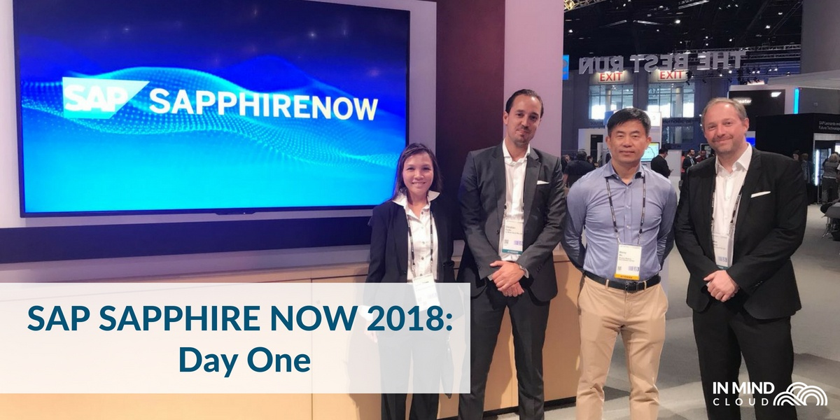 SAPPHIRE NOW 2018 Day 1: Keynote and Mindray's Story