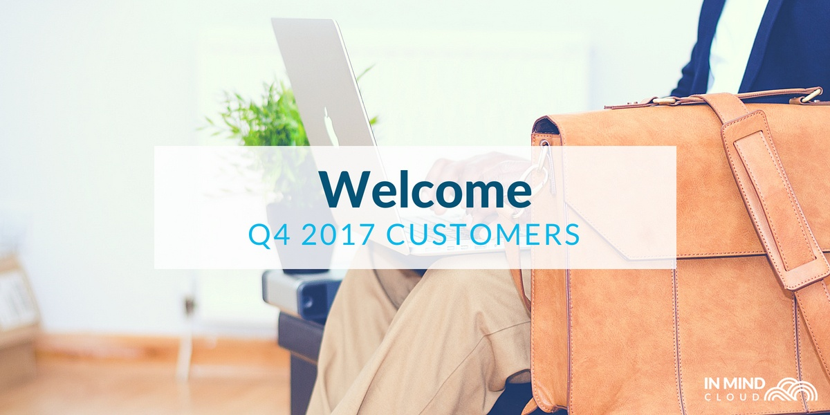 Welcome to our new customer in Q4 2017