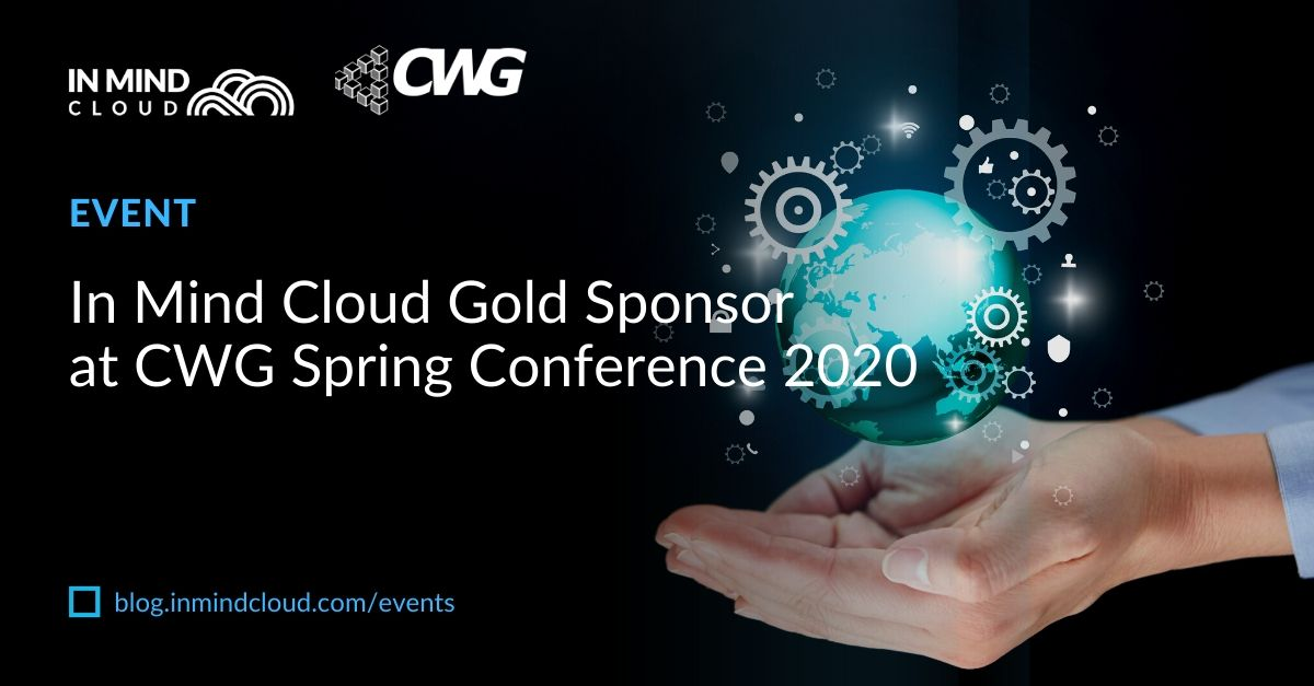 In Mind Cloud Gold Sponsor at CWG Spring Conference 2020
