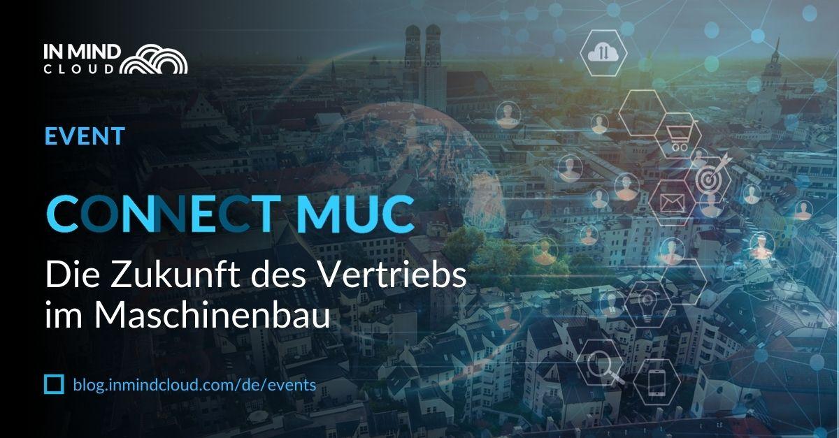 Connect MUC – Die Zukunft des Vertriebs im Maschinenbau