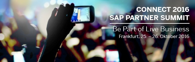 In Mind Cloud @ CONNECT 2016 – SAP Partner Summit
