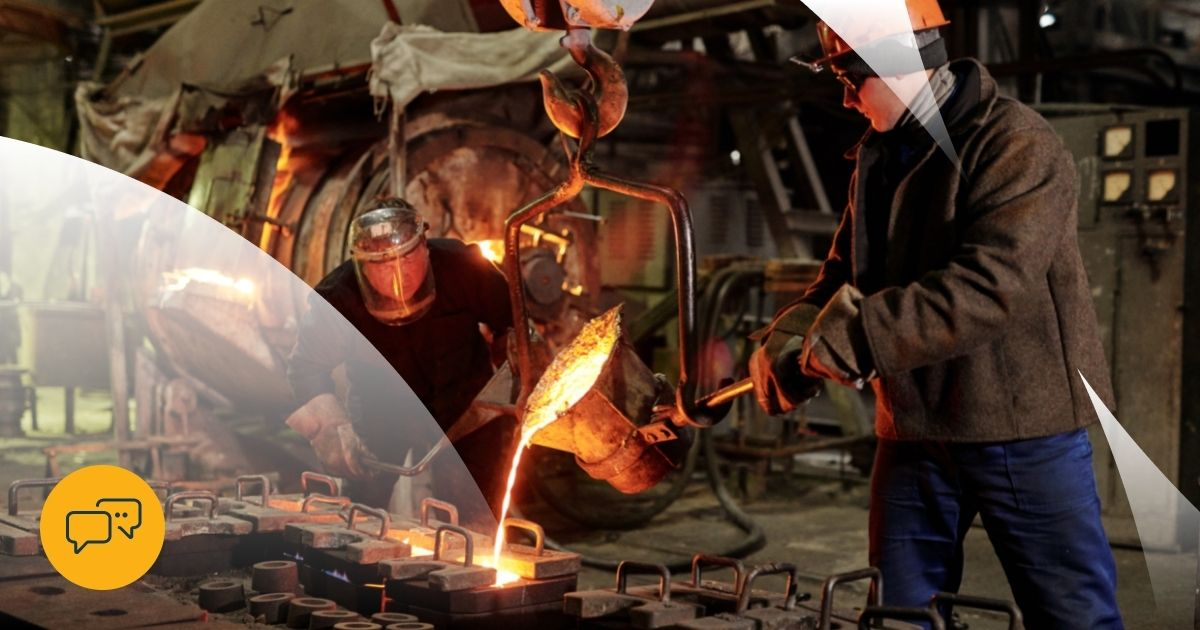Manufacturing Sales in the Steel and Metal Industry
